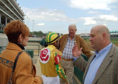 Race Day with Miss Dixie at Churchill Downs May 2011