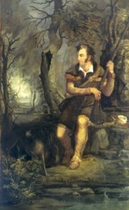 Painting of Daniel Boone