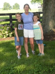 The Koerner's  -- Leslie, Isabell and Olivia in 2011