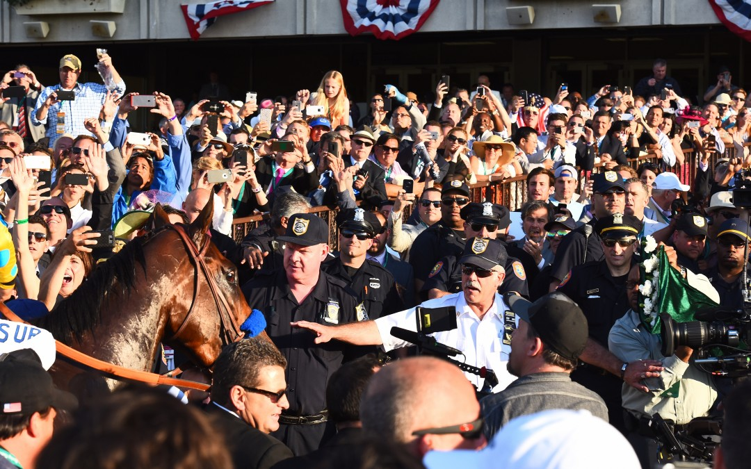 American Pharoah makes history