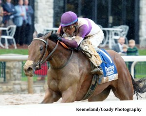 GOMO The Darley Alcibiades Gr I - 64th Running Keenland Race Course     Lexington, Kentucky October 2, 2015    Race #09 Purse $400,000 1-1/16 Miles  1:45.55 Reddam Racing, LLC, Owner Doug O'Neill, Trainer Mario Gutierrez, Jockey Dothraki Queen (2nd) Ma Can Do It (3rd) $12.60 $6.00 $4.00 Please Give Photo Credit To: Keeneland / Coady Photography