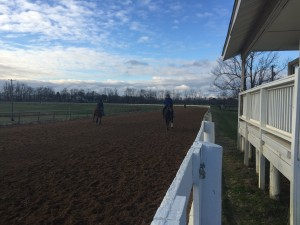 Kentucky Training Center on a January morning.